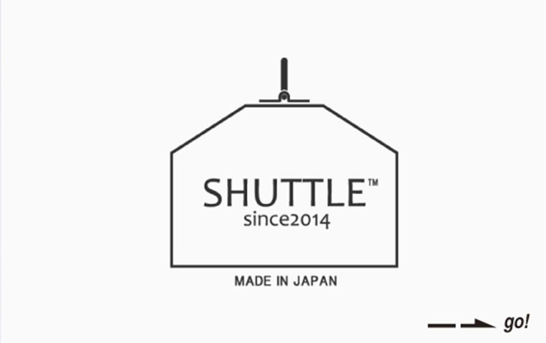 【写真】SHUTTLEのロゴ